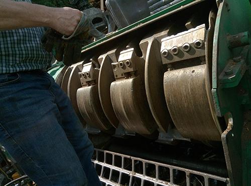 Jenz Hem 582 R Chippertruck